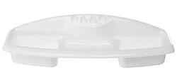 Полка в ванную под зеркало на 4 зубные щетки и мыло