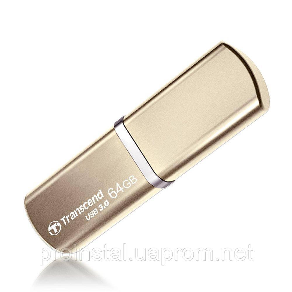 Накопитель Transcend 64GB USB 3.1 JetFlash 820 Metal Gold