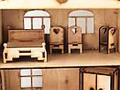 Будиночок іграшковий з ліфтом дерев'яний 3Д конструктор, фото 2