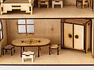 Будиночок іграшковий з ліфтом дерев'яний 3Д конструктор, фото 3