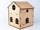 Будиночок іграшковий дерев'яний 3Д конструктор, фото 2