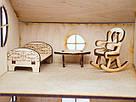 Будиночок іграшковий дерев'яний 3Д конструктор, фото 5