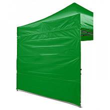 Боковая стенка на шатер - 10.5м ( 3 стенки на 3*4.5) ЗЕЛЕНЫЙ