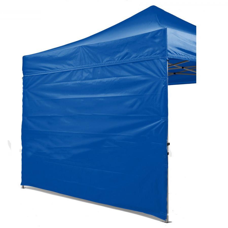 Боковая стенка на шатер - 10.5м ( 3 стенки на 3*4.5) СИНИЙ