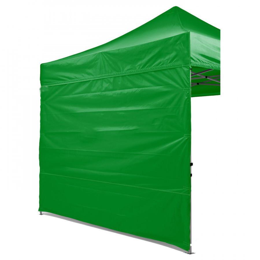Боковая стенка на шатер - 9м ( 3 стенки на 3*3) ЗЕЛЕНЫЙ