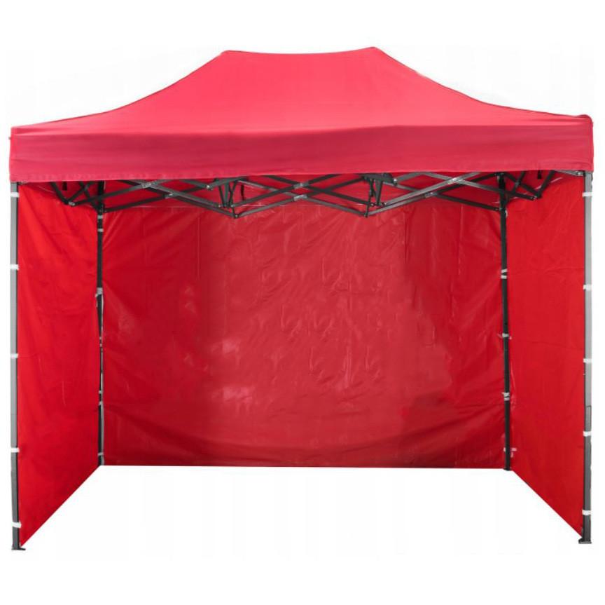 Боковая стенка на шатер - 7м ( 3 стенки на 2*3) КРАСНЫЙ