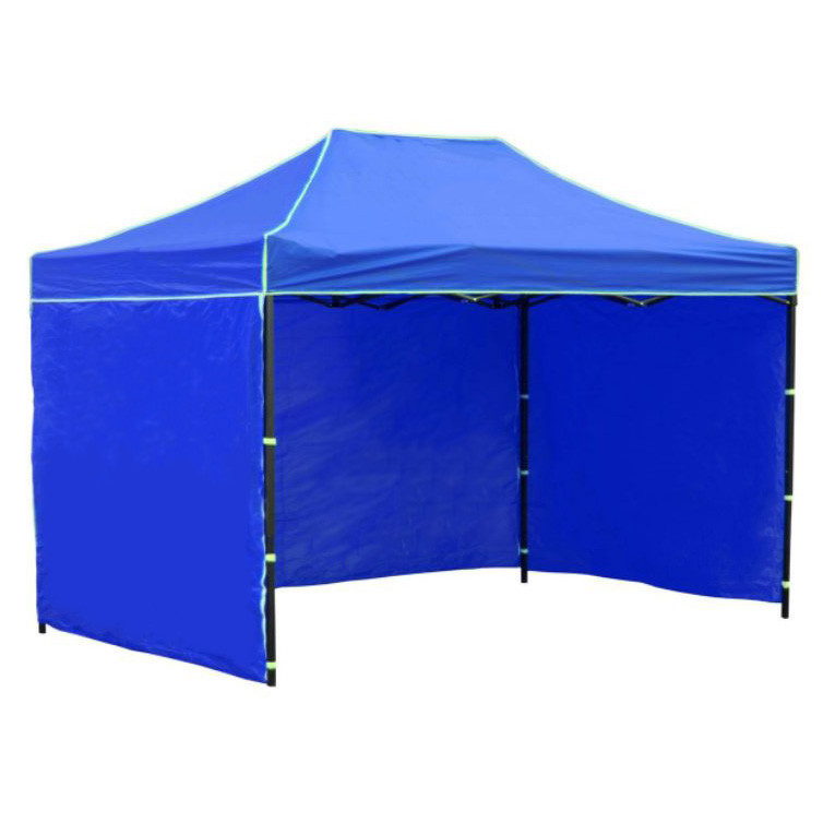 Боковая стенка на шатер - 7м ( 3 стенки на 2*3) СИНИЙ