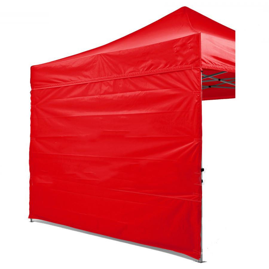Боковая стенка на шатер - 6м ( 3 стенки на 2*2) КРАСНЫЙ