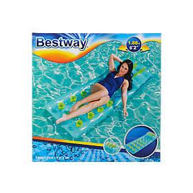 Пляжный надувной матрас INTEX 43015(кам)