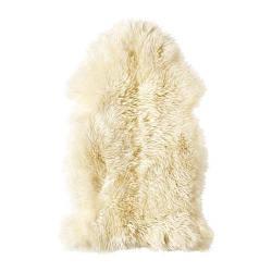 ИКЕА (IKEA) ЛУДДЕ, 602.642.67, Овечья шкура, белый - ТОП ПРОДАЖ