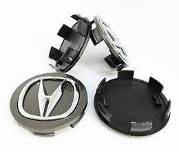 Ковпачки для оригінальних дисків Акура (сірий)