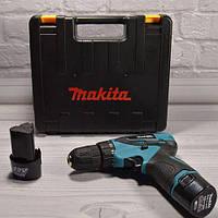 Makita шуруповерт аккумуляторный DF 330 DWE макита дрель бита в подарок
