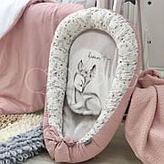 Кокон для новорожденных Маленькая Соня Art Design Олененок 65*90 см поплин детский арт.5039425