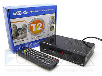 Цифровой эфирный приемник с экраном DVB-T2 U006 металл 20шт T2-006
