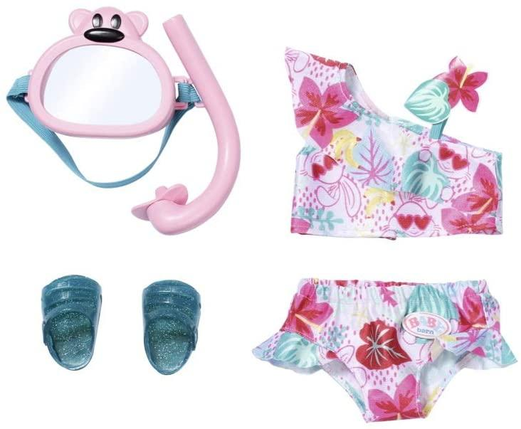Купальник Беби Борн Baby Born бикини с маской для подводного плавания Zapf 829240