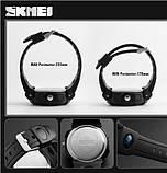 Спортивные часы Skmei S Shock Черный+Белый, фото 2