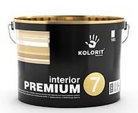 Краска воднодисперсионная КОЛОРИТ Dynasty (Interior Premium 7) 9л