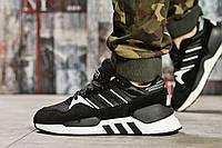 Кроссовки мужские 15541, Adidas Original, черные, < 40 41 43 > р. 43-26,1см.