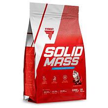 Гейнер TREC SOLID MASS 5800g Вкус: Клубника