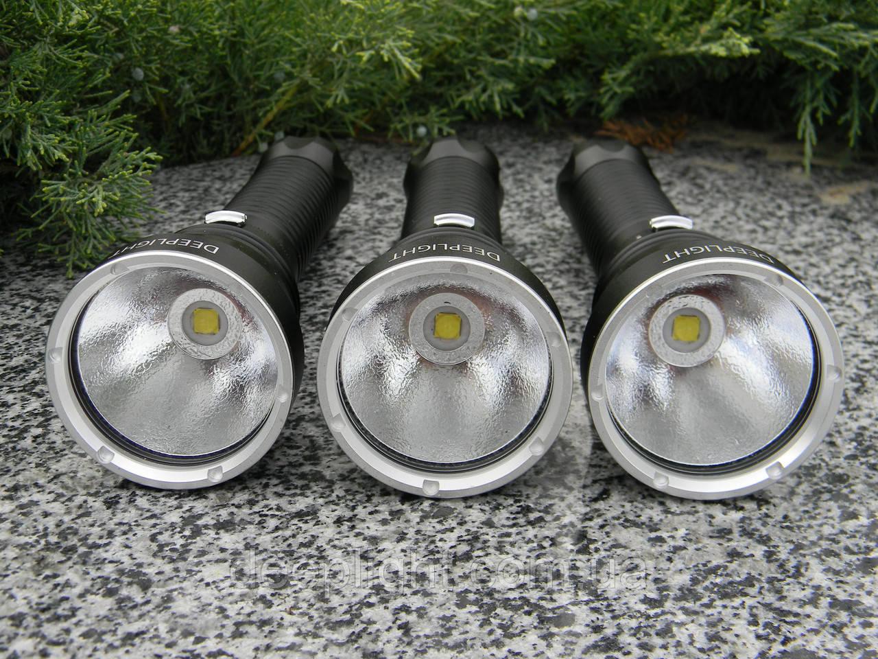 Підводний ліхтар Deeplight D170.2 Logo Original з білим світлом на Cree XHP70.2 30W під 26650/18650