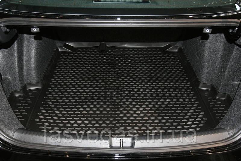 Коврик в багажник  VOLKSWAGEN Jetta Trendline 2011- сед. (полиуретан)