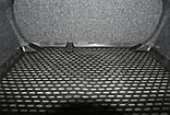 Коврик в багажник  VOLKSWAGEN Jetta Trendline 2011- сед. (полиуретан), фото 3