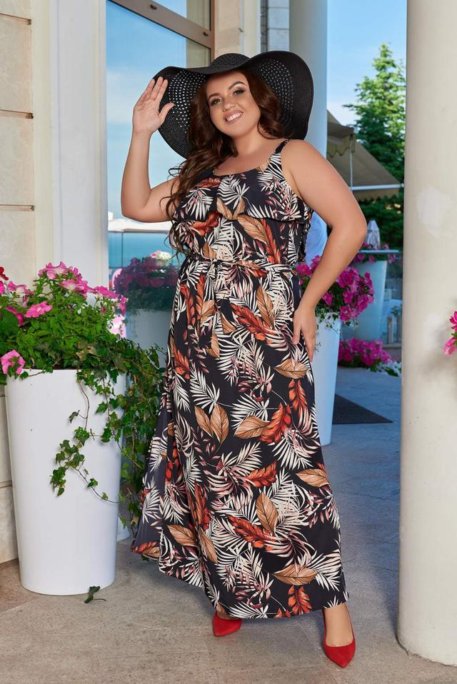 фото платье батал