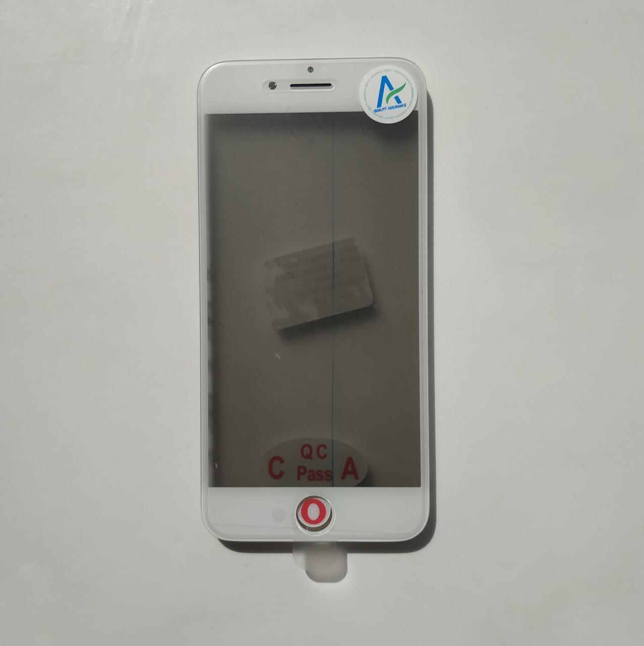 Стекло корпуса Novacel для Apple iPhone 8 iPhone SE 2020 с рамкой OCA пленкой поляризационной пленкой White