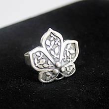 Кольцо металлическое с серебряным покрытием