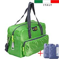 Термосумка Giostyle Vela 23 l зелена (сумка-холодильник, ізотермічна сумка). Охолодження 14 годин!, фото 1