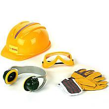 Детский набор инструментов Bosch Klein 8537 каска рукавицы очки наушники