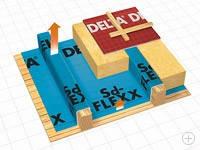 Пароизоляционная пленка DELTA-Sd-FLEXX, фото 1
