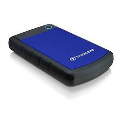 Жорсткий диск зовнішній HDD Transcend Storejet TS1TSJ25H3B 1024 Gb Blue