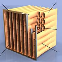 Taschenfilter TROX PFC-Coarse-60%-PLA-25/287x592x360x3