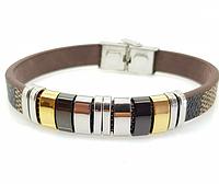 312. Мужские браслеты - кожаные браслеты, модные украшения для мужчин оптом