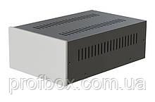 Корпус металевий з алюмінієвою панеллю MB-22 (Ш170 Г265 В90) чорний, RAL9005(Black textured)