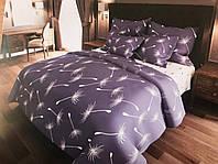 Красивое качественное постельное белье евро, одуванчики