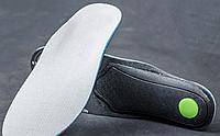Спортивные ортопедические стельки с антишоковой пяткой и поддержкой свода стопы, 285мм (обрезные)