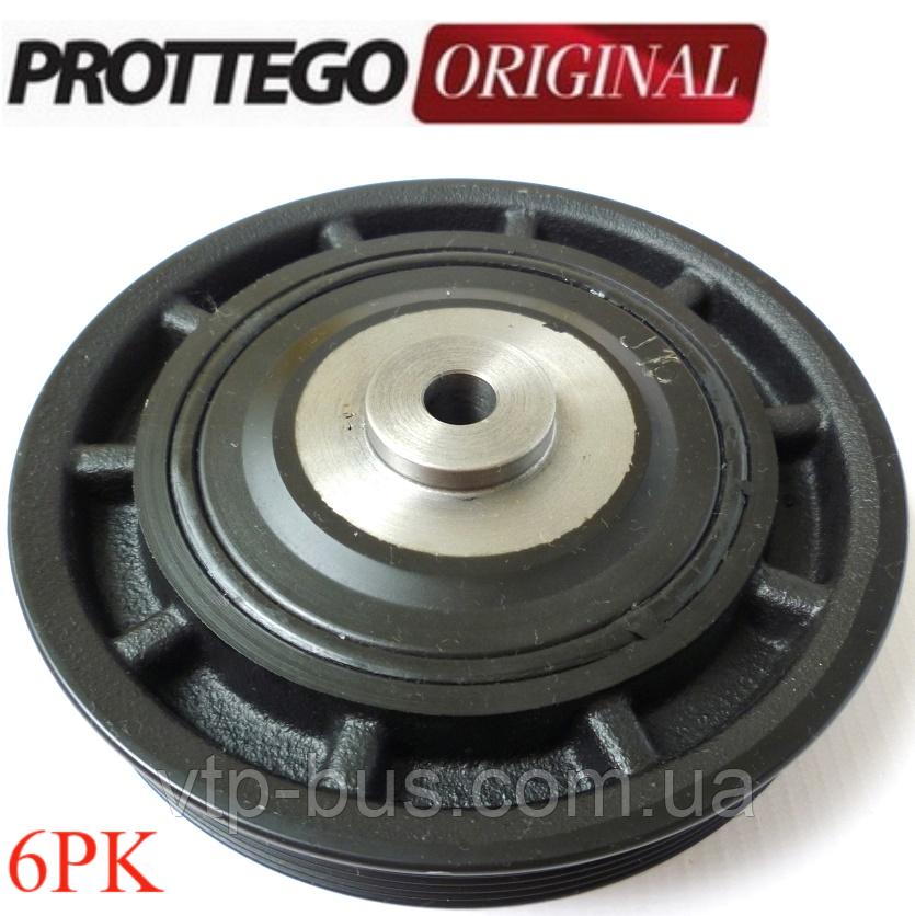 Ременной шкив коленчатого вала (6PK) на Renault Trafic 1.9dCi (2001-2006) Prottego (Польша) JAD97095J