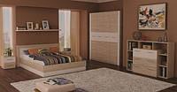 Спальня Вирджиния Лайт (секвойя + белый) ТМ Неман