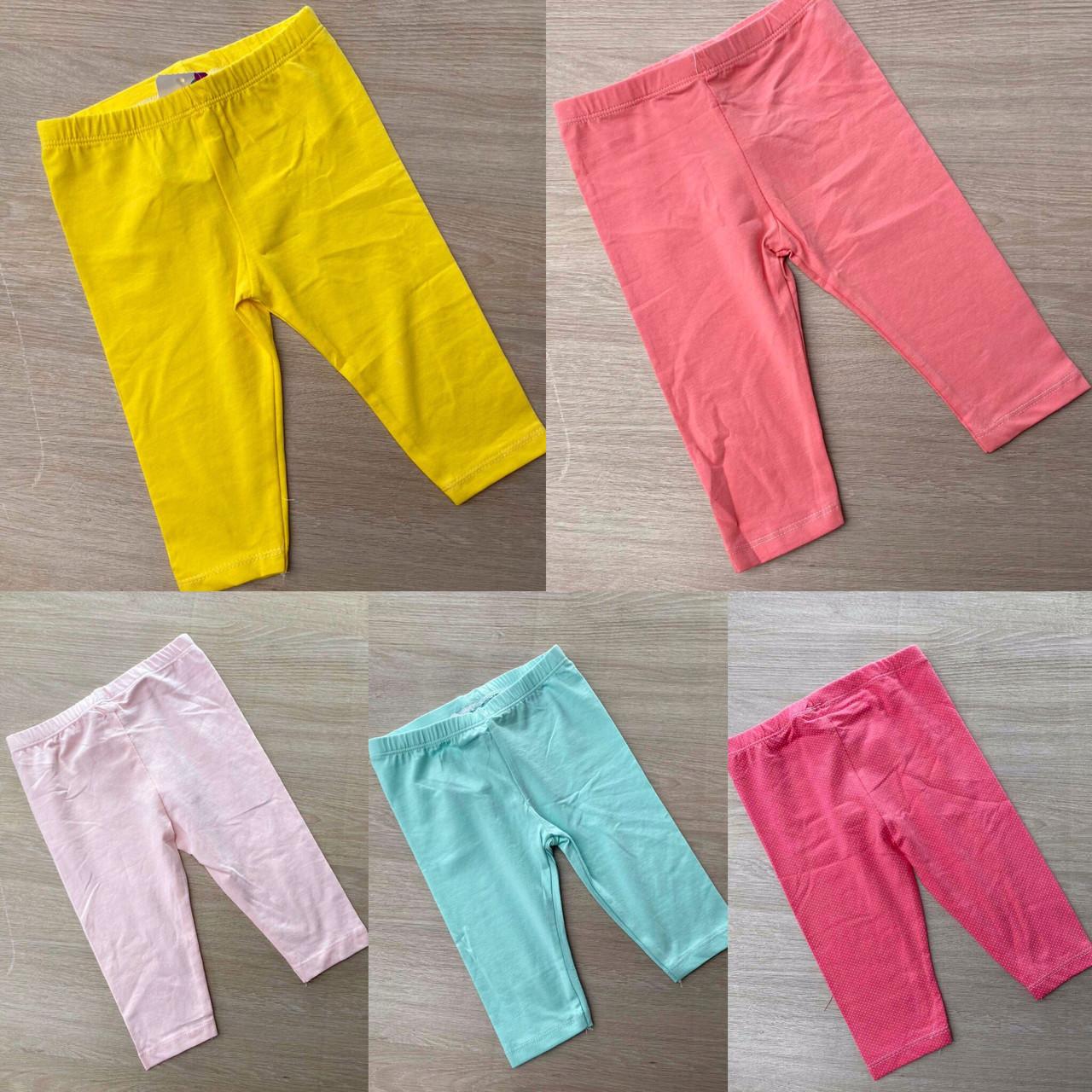 Дитячі бриджі, шорти, лосини 6-9-12 міс