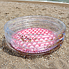Бассейн Intex детский Прозрачный блеск с надувным дном 86х25см, 56 литров (57103)