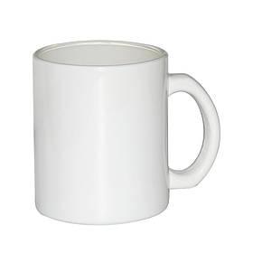 Чашка для сублимации стекло 300 мл (белая)