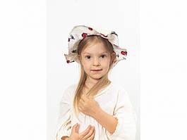 Детская шляпа Манк  молочная