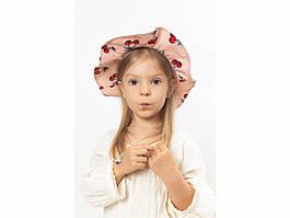 Детская шляпа Манк  пудровая