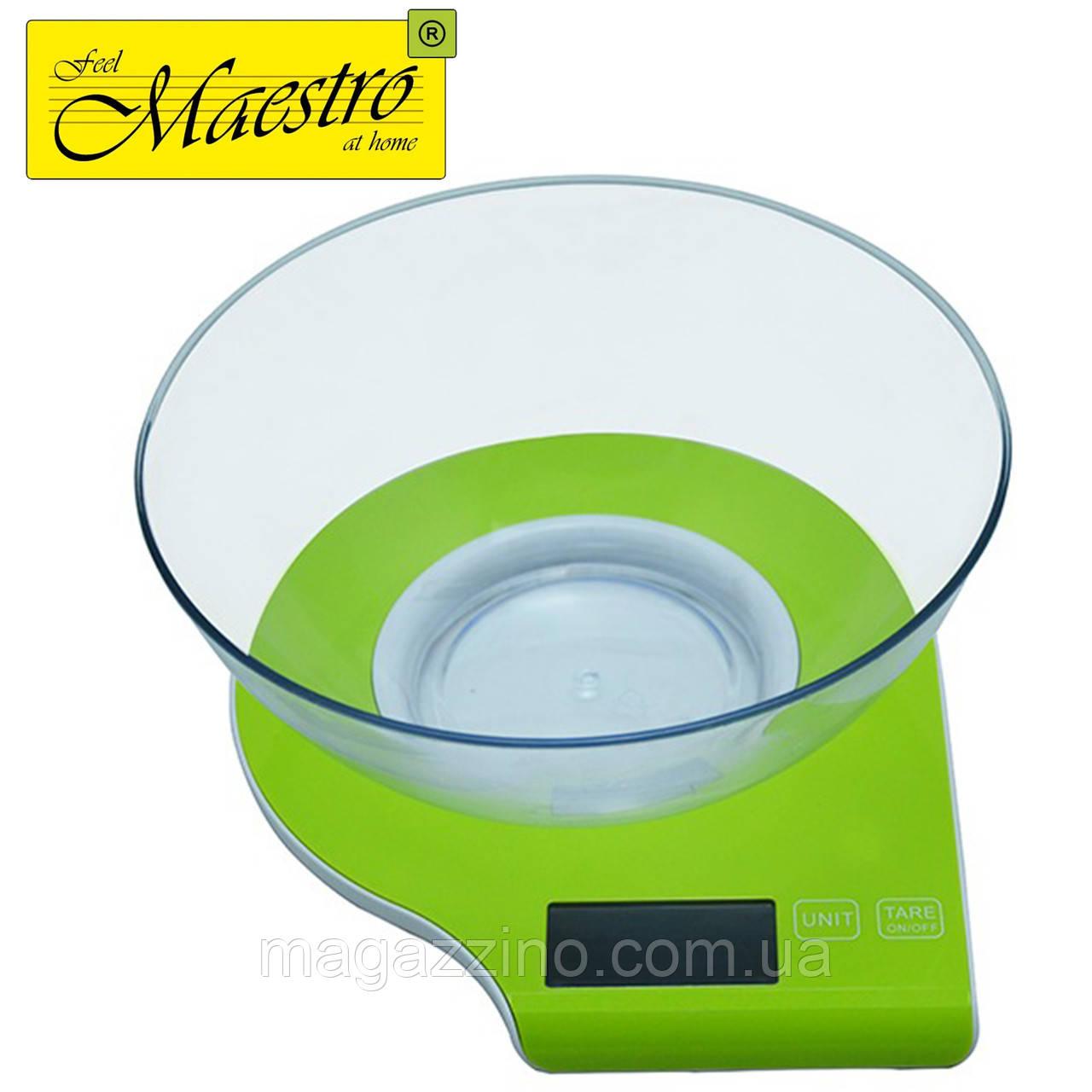Весы кухонные Maestro MR-1800, 5 кг.