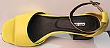 Босоножки на каблуке кожаные от производителя модель РУ228-4, фото 4