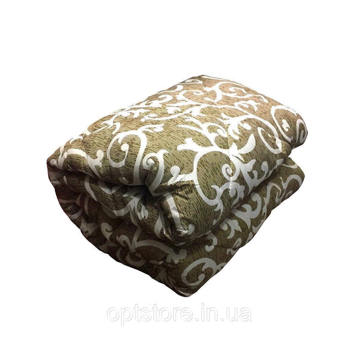 Ковдра полуторна холлофайбер, тканина полікотон