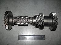 Вал промежуточный КПП ГАЗ 3302 5-ст. без подш.  (арт. 3302-1701310), rqm1