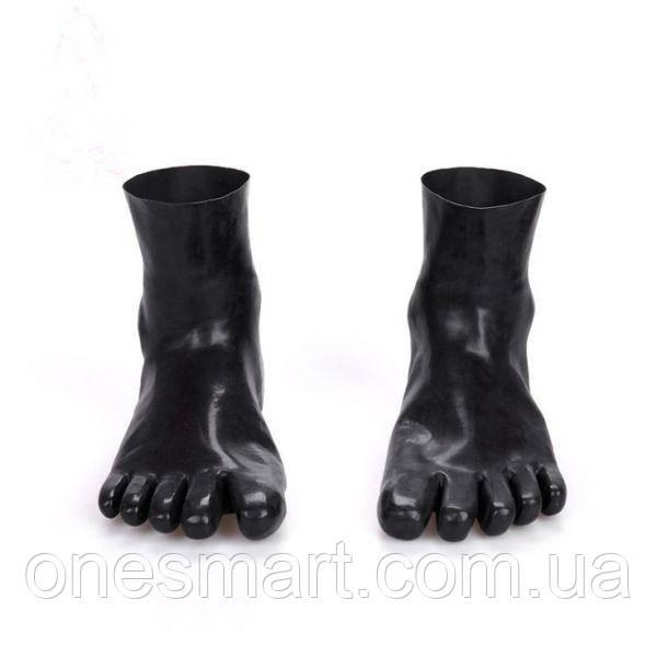 Носки из натурального латекса с пятью пальцами